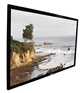 Elite Screens R100WV1 ezFrame Fixed Projection Screen (100
