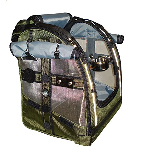 Celltei Pak-o-Bird - Olive color with Stainless Steel mesh - Small Size