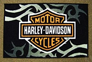 Harley Davidson Custom Bike Black Mammoth Fat Spoke Wheels