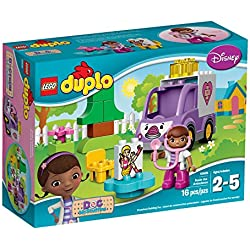 LEGO DUPLO Brand Disney 10605 Doc McStuffins Rosie the Ambulance Building Kit