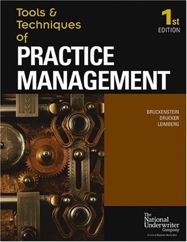 Tools & Techniques Of Practice Management (The Tools...
