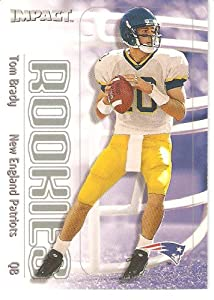 2000 Fleer SkyBox Impact # 27 Tom Brady RC - New England Patriots - Football Rookie... by Fleer