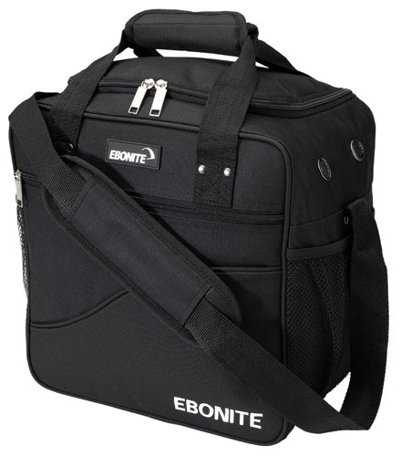 Ebonite Basic Single Bowling Ball Tote, Black