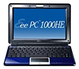 ASUS Eee PC 1000HE 10.1-Inch Blue Netbook - 9.5 Hour Battery Life