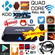 Lingstar 4K M8 Android 4.4 Smart TV Box Quad Core 2GB+8GB WIFI XBMC KODI Full Loaded