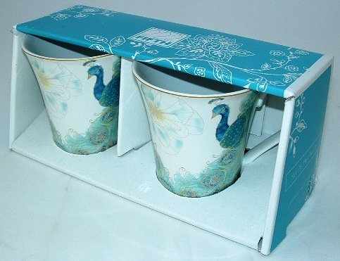 222 Fifth Lakshmi Peacock Fine Porcelain Mug Set of Two (Gracie China Cake Stand compare prices)
