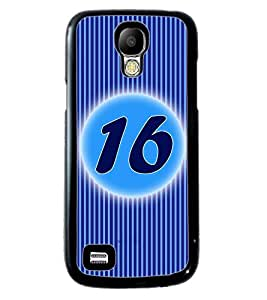 Fuson 2D Printed Numerology Designer back case cover for Samsung Galaxy S4 Mini - D4234