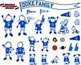 51xcTUXE1lL. SL160  NCAA Duke Blue Devils Decal Family