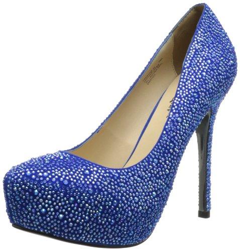 Pleaser Day & Night, Scarpe col tacco donna, Blu (blu), 38.5 (6 UK)