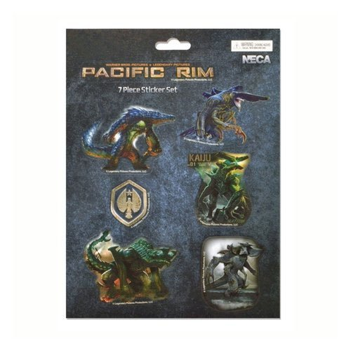 Pacific Rim Kaiju 7 Piece Magnet Sheet