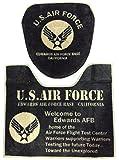 トイレカバー&トイレマット 2点セット (ウォシュレットサイズ(洗浄機能付きタイプ), U.S.AirForce(カーキ)) アメリカン アメカジ アメリカ 雑貨 USエアフォース USAF US AIR FORCE ミリタリー 世田谷ベース インテリア トイレ ファブリック マット グッズ