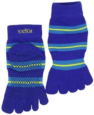 Toesox Full Toe With Grip Yogapilates Toe Socks from ToeSox