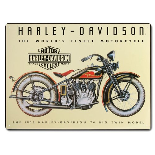 Harley-Davidson® Tin Sign Collection Featuring The