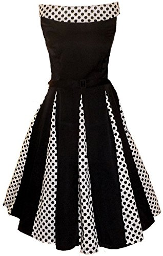 Rosetta 50′s Rockabilly Classy Polka Dot Swing, Pin Up,