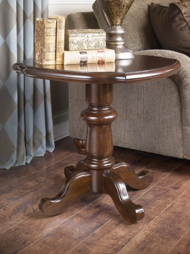 "Cheap DarkBrown End Table – Design by ""Famous Brand"" Furniture (T513-6)"