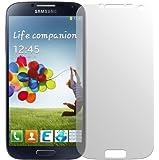 dipos Samsung Galaxy S4 i9500 Schutzfolie (4 Stück) - Antireflex Premium Folie matt