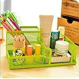 HomeCube high quality popular design desk organizer/pen holder/cell phone holder/cosmetic holder(Green)