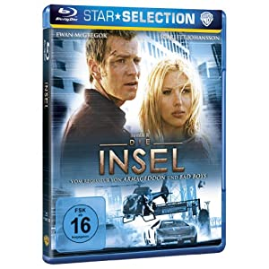 Die Insel [Blu-ray] [Import allemand]