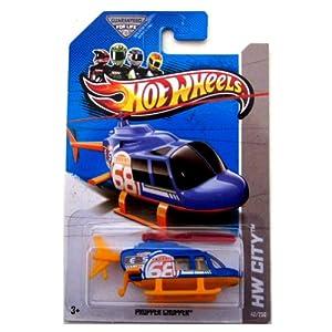 2013 Hot Wheels Hw City - Propper Chopper