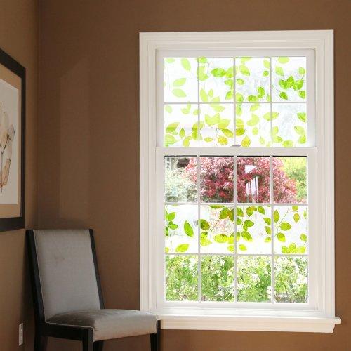 artefact dekofolie fensterfolie leaves selbstklebend verschiedene gr en spar baumarkt. Black Bedroom Furniture Sets. Home Design Ideas