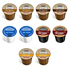 10-count Variety Hot Chocolate Cocoa Sampler for Keurig® K-cup® Brewers - Swiss Miss, Grove Square and Martinson's