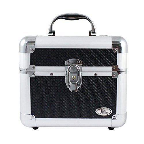 jacki-design-aluminum-makeup-train-case-w-expandable-trays-bhj14132-black-by-jacki-design