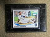 Detroit Tigers Miguel Cabrera Mounted Player Card 4x6 at Amazon.com