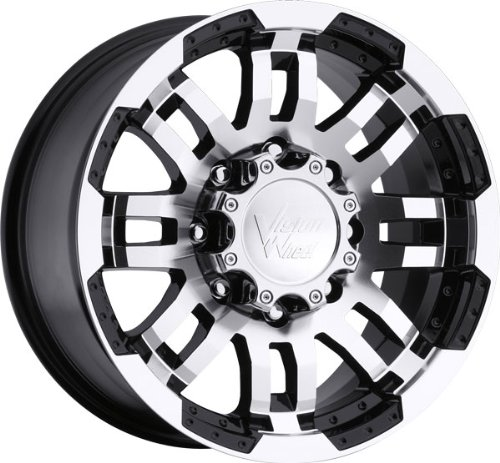 51xciFEmMEL VISION WHEEL   375 warrior   15 Inch Rim x 7.5   (5x5) Offset