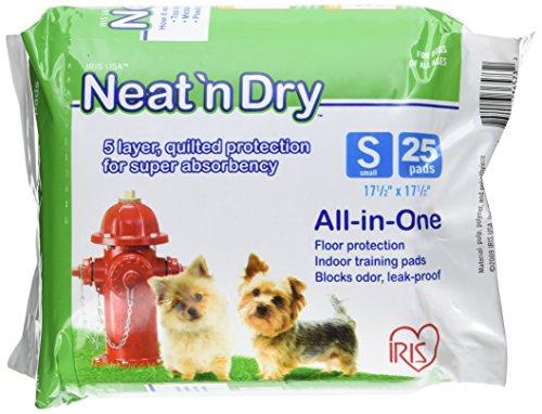 Iris Neat N Dry Small Dog Training Pads Pack Of