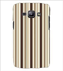 SAMSUNG GALAXY J1 LINES PATTERN Designer Back Cover Case By PRINTSWAG