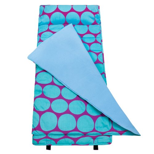 Wildkin Big Dots Aqua Nap Mat
