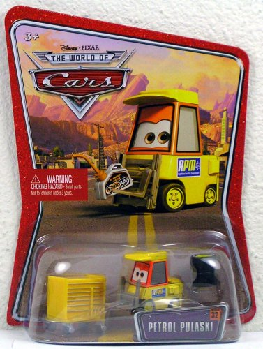 Disney Pixar Cars the World of Cars Petrol Pulaski #32 - 1