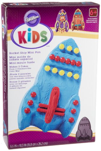 Wilton Kids Rocket Ship Mini Cake Pan