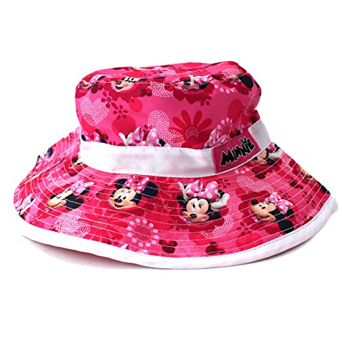 Minnie Mouse Toddler Girls Pink Bucket Hat