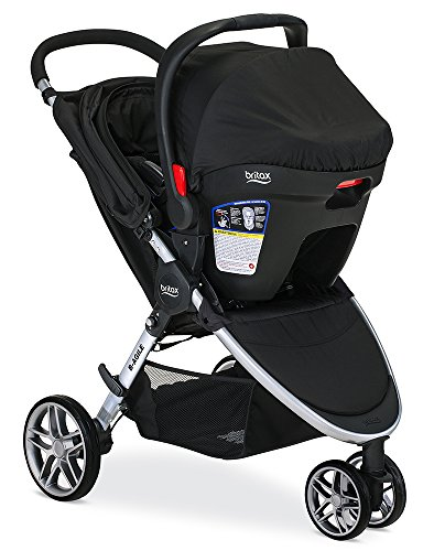 britax 2016 b agile 3 b safe 35 travel system black baby shop. Black Bedroom Furniture Sets. Home Design Ideas