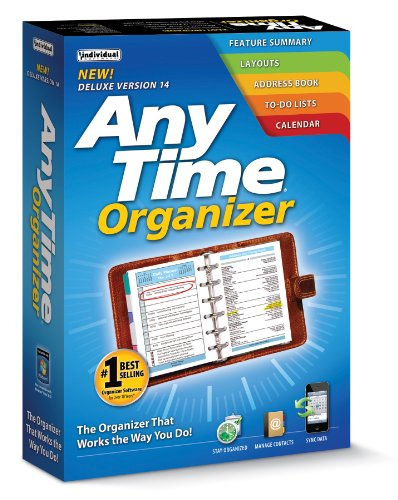 Individual Software Anytime Organizer Deluxe 14 front-804671