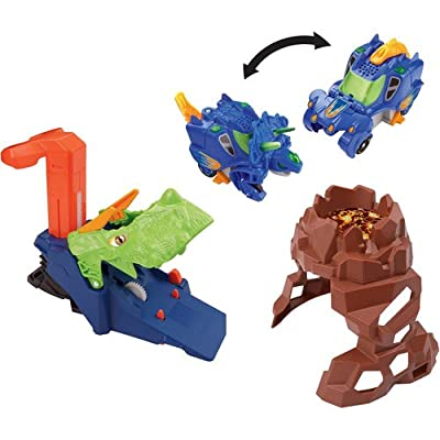 VTech Switch & Go Dinos Turbo Triceratops Deluxe Launch
