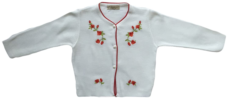 Lilax Baby Girls' Knit Cardigan Sweater t100 children sweater winter wool girl child cartoon thick knitted girls cardigan warm sweater long sleeve toddler cardigan