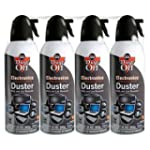 Dust-Off Compressed Gas Duster - 4 Pa...
