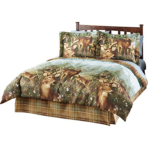 Deer Creek Wildlife Comforter Set - 4 pc, Multi, Queen
