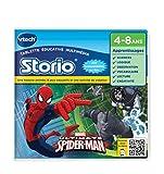 VTechStorio - Tableta educativa multimedia, Spiderman (233005) (versión en francés)
