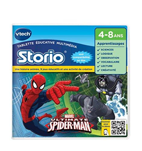 Vtech - 233005 - Storio 2 et générations suivantes - Jeu éducatif - Spiderman