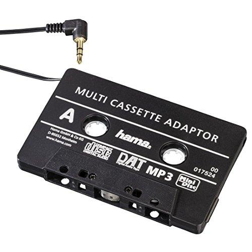 Hama-KFZ-Kassettenadapter-SmartphonesMP3-CD-PlayeriPodTablets-am-Autoradio-Tape-mit-35-mm-Klinkenstecker-schwarz
