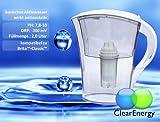 Clear Energy Wasserionisierer / Wasserfilter TWF200 2,0 Liter wei...