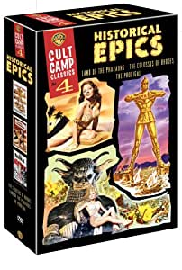 Cult Camp Classics 4 - Historical Epics (The Colossus of Rhodes / Land of the Pharaohs / The Prodigal)