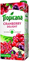 Tropicana Cranberry Delight Fruit Juice  , 1000ml