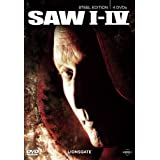 "Saw I - IV (Steel Edition) [4 DVDs]von ""Lionsgate"""