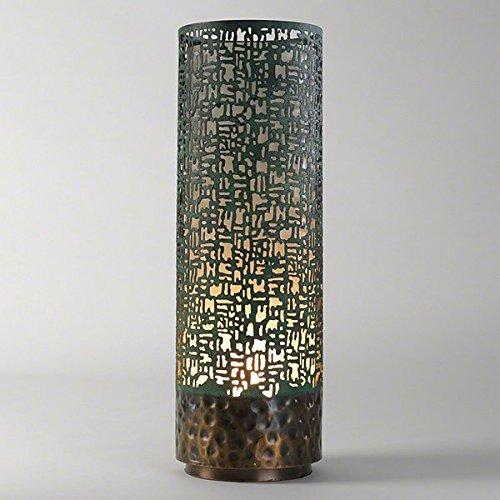 Studio A Lodi Vessel Light Fixture, Copper Verdigris