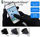 Smart Touch Glove スマートタッチグローブ iPhone,iPad,スマートフォン,タブレットPCを5本指操作 iTouch Gloves