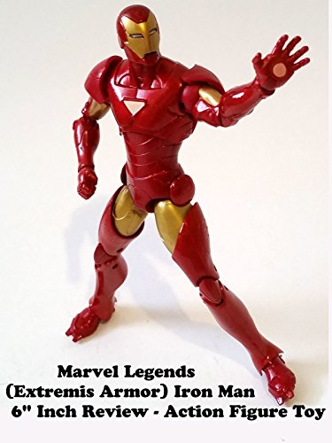 "Marvel Legends Extremis IRON MAN Review 6"" inch action figure toy on Amazon Prime Video UK"